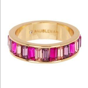 BAUBLEBAR Allese Crystal Baguette Ring